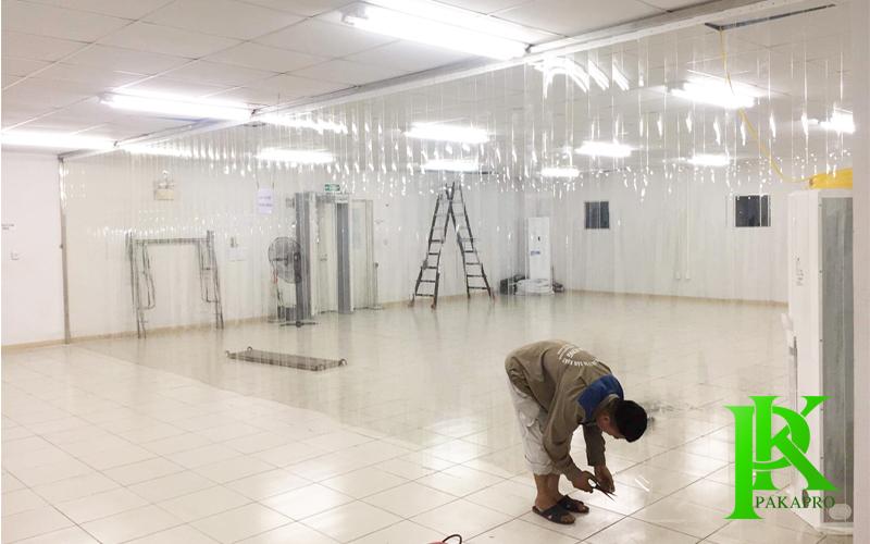 Lắp đặt màn nhựa pvc tại Hà Nội