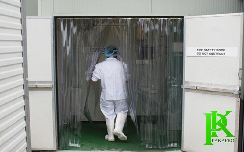 Rèm nhựa pvc ngăn kho lạnh