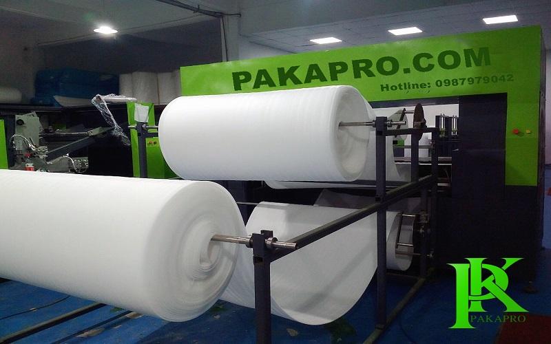 Sản xuất xốp pe foam tại PAKAPRO
