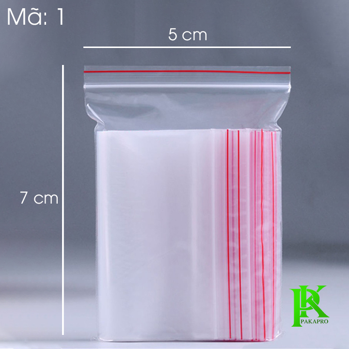 Túi zipper số 1