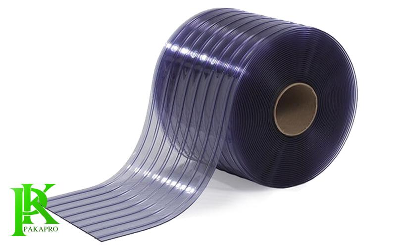 cuộn nhựa pvc xanh gân