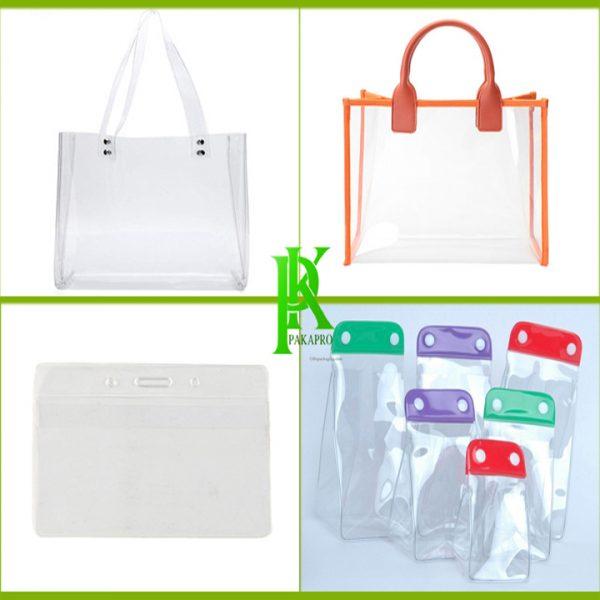 Túi nhựa pvc đựng mỹ phẩm